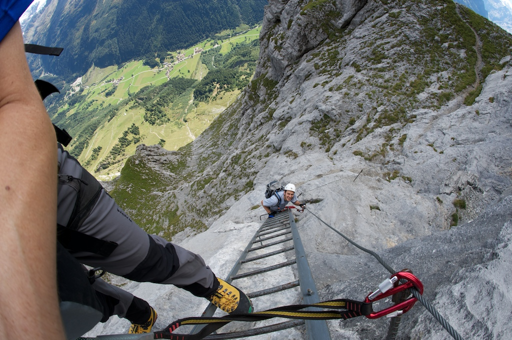 Klettersteig Tälli : Tälli klettersteig gadmen interlaken oberhasli bergtour
