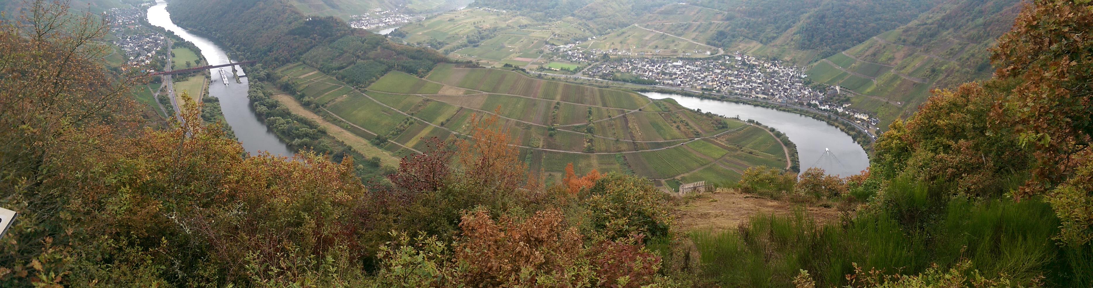 Klettersteig Cochem : Wandern rundtour über den calmonter klettersteig und höhenweg