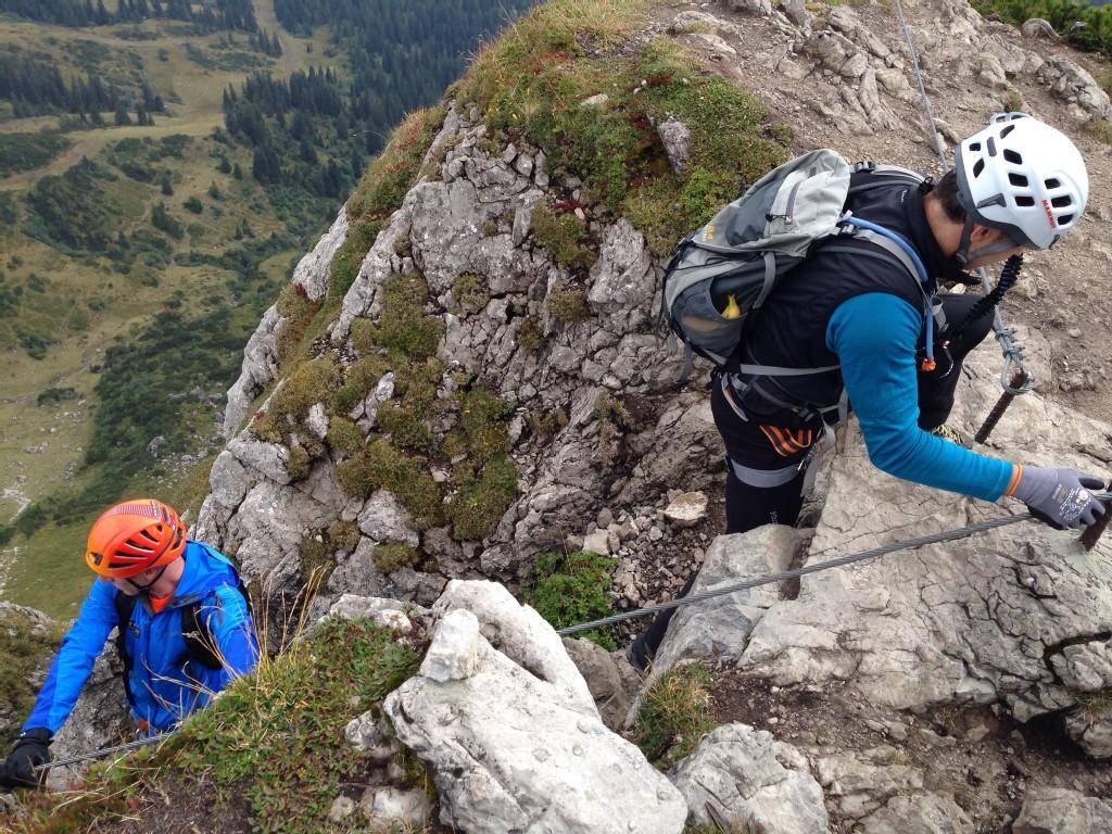 Klettersteig Kanzelwand : Klettersteige rund um oberstdorf im allgäu