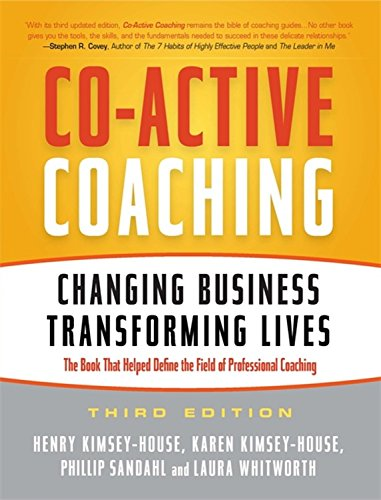 Co-Active Coaching book link