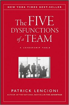 The 5 Dysfunctions of a Team book link