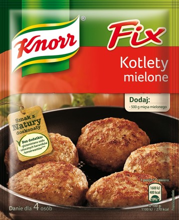 Fix Kotlety mielone Knorr
