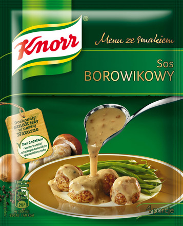 Sos borowikowy Knorr
