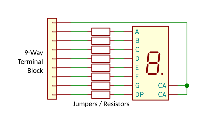Simplified basic board schematic