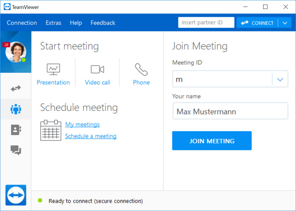 TeamViewer Conference software