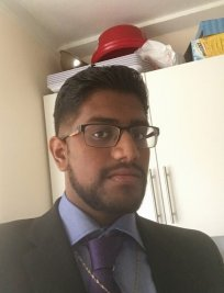 Abishan is a German tutor in Dorking