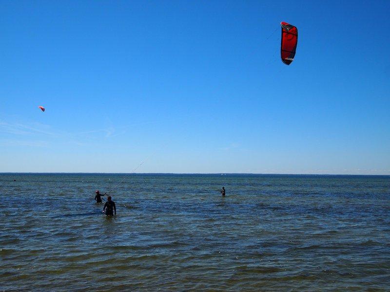 Kitesurfing op Öland