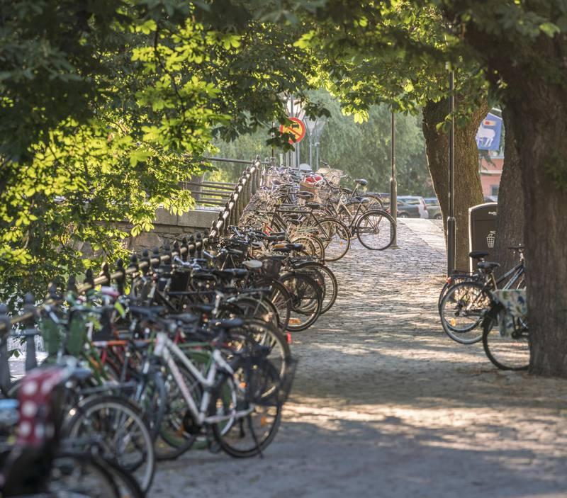 Bicycle town Uppsala
