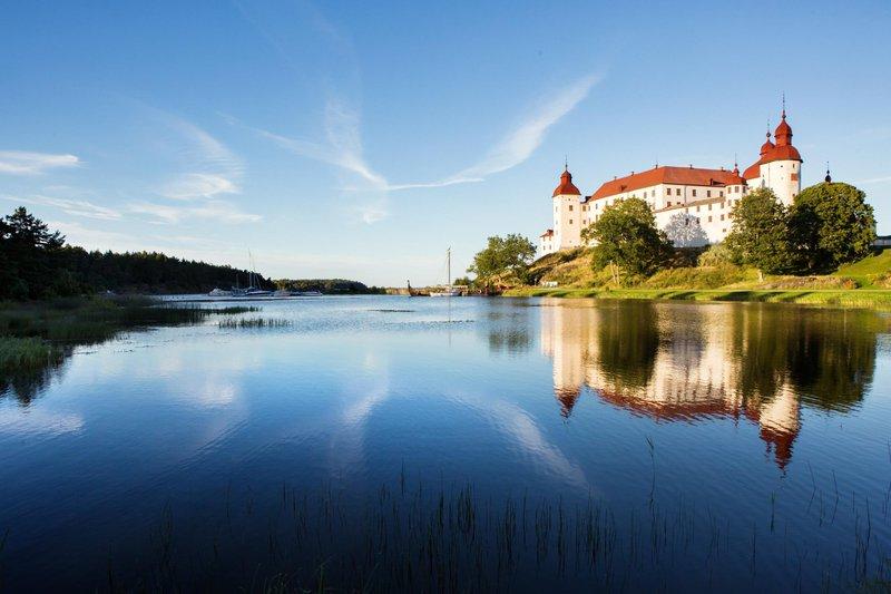 Summer at Läckö Castle, West Sweden