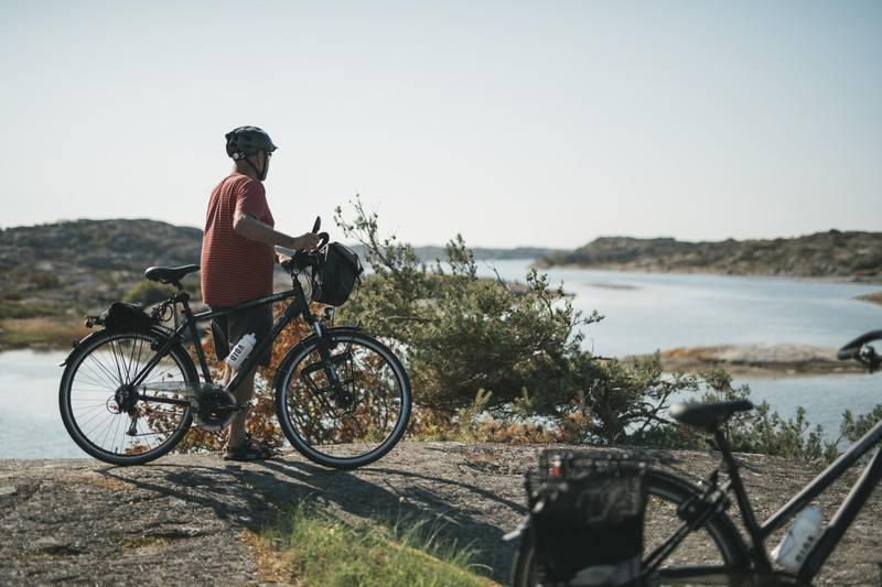 Biking in the Gothenburg archipelago