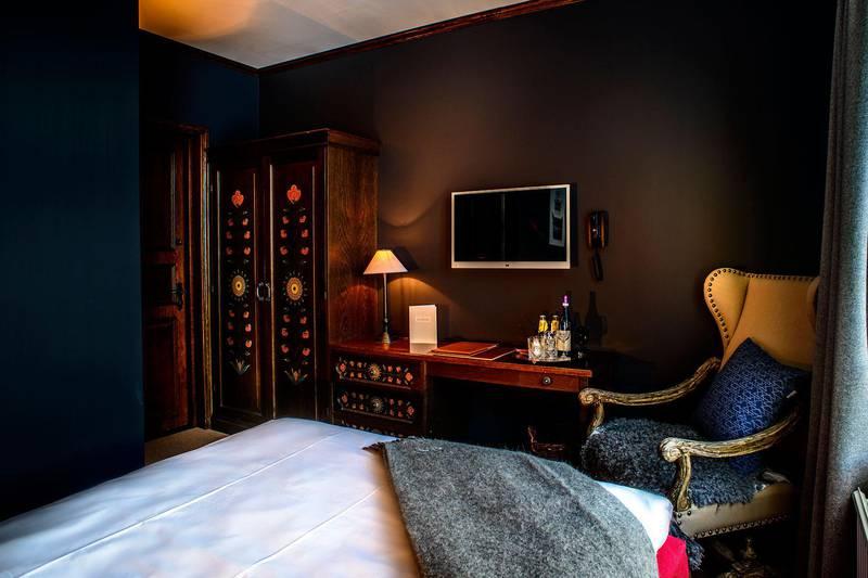Hotel room at Hotel Åregården in Åre, Jämtland
