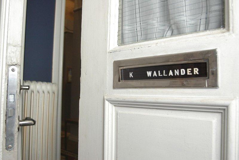 The home of Kurt Wallander in Ystad, Skåne