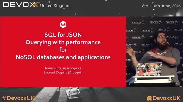 SQL for JSON