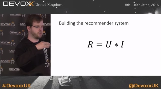 A recommender system using Apache Spark and Akka