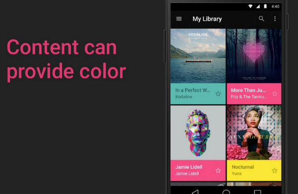 Material Design – the state of software design across mobile and web platforms