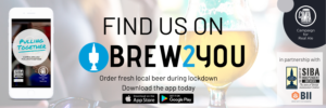 BREW2YOU Twitter banner - Find Us