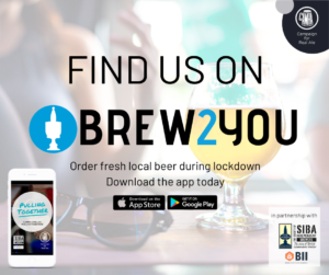 BREW2YOU Facebook Post - Find Us
