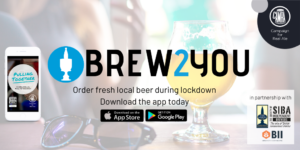BREW2YOU Twitter Post