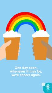 Rainbow Insta Story