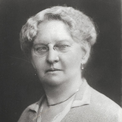 Alice 'May' Harvey Smith. First Chairperson of Harvey's Brewery.