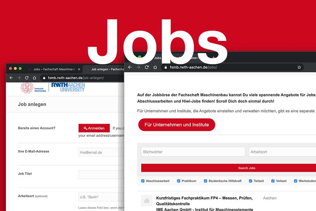 Neues Jobportal der FSMB