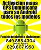 Activación mapa GPS Dominicana para su Android todos los modelos!