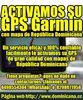 Activar GPS de mapa RD para su dispositivo Garmin.
