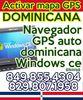Activar mapa GPS Dominicana para navegador GPS auto dominicana Windows ce