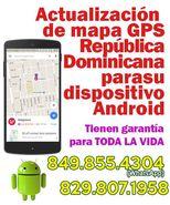 Actualización de mapa GPS Dominicana para su dispositivo Android