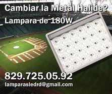 Cambiar las Metal Halide por LED? Facil! Lampara de 180W!