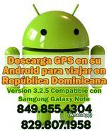 Descarga GPS en su Android para viajar en República Dominicana