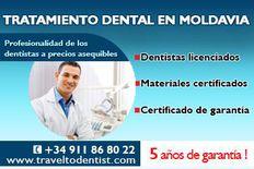 Implantes dentales por sólo 275 euros (el precio incluye también el pilar)