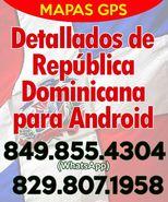 Mapas GPS detallados de Dominicana para Android