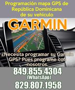 Programación mapa GPS RD para Garmin de su vehículo