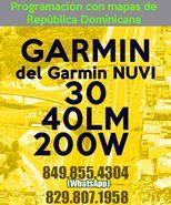 Programar el Garmin NUVI 30, 40LM y 200W con mapas de Republica Dominicana.