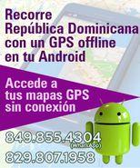 Recorre Dominicana con un GPS offline en tu Android