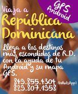 Viaja en República Dominicana con GPS para Android