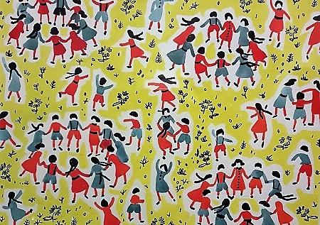 children fabric design