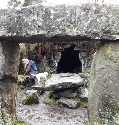 yorkshire Stonehenge monoliths inner circle