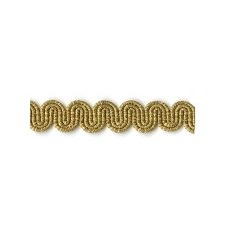 antique gold arco gimp braid