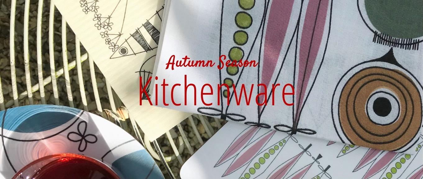 autumn season kitchenware