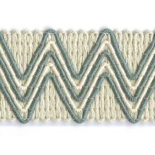 eucalyptus zigzag woven upholstery trim
