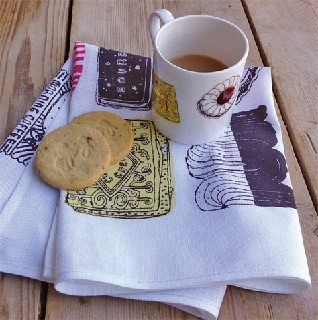 family favourite biscuit mug and tea towel