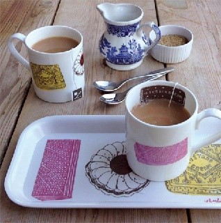 family favourite biscuit mug and drinks tray