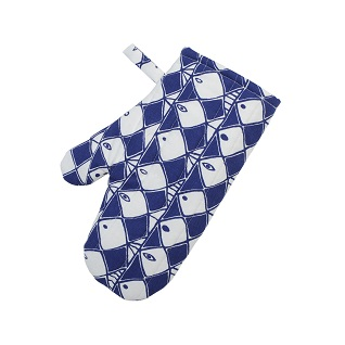 frisco classic swedish kitchen oven mitt print