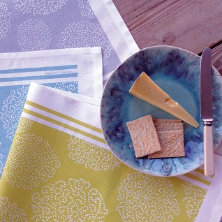asha contemporary tea towels pack of three colours