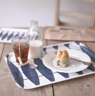 blue herring laminated kitchen trays