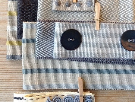 contemporary haberdashery trims by New House