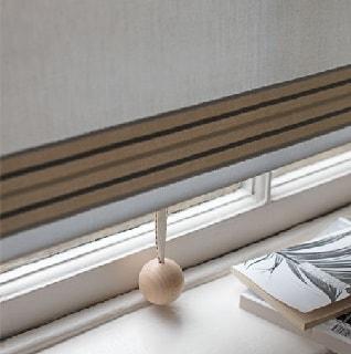 nimbus window blind fabric with fletcher braid