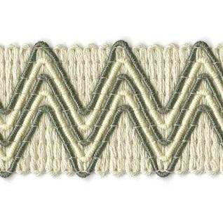 pebble grey zigzag woven upholstery trim